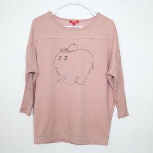 Tops - HSTYLE Women's Bat Sleeve Shirt